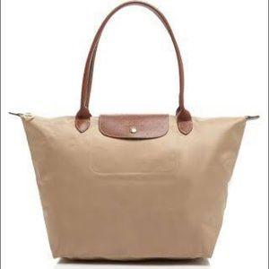 LONGCHAMP Le Pliage Tan Large Bag
